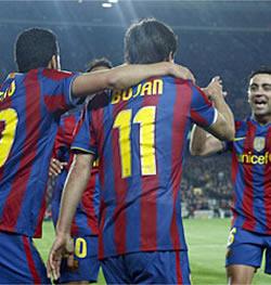 Foto de El Barcelona vence 3-0 al Deportivo