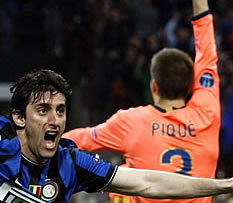 Foto de El Barça cae 3-1 ante el Inter en la ida de semifinales