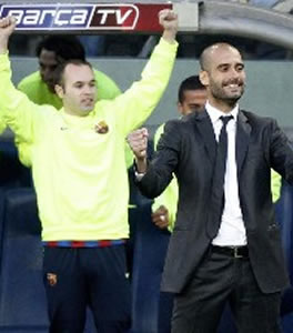 Foto de El FC Barcelona vence 2-3 al Valladolid y se proclama Campeón de Liga