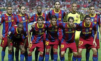 Foto de El F.C. Barcelona cae 3-1 en la ida de la Supercopa ante el Sevilla