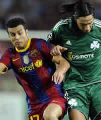 Foto de El F.C. Barcelona golea 5-1 al Panathinaikos