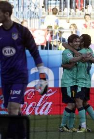 Foto de El F.C. Barcelona vence 1-2 al Atlético de Madrid