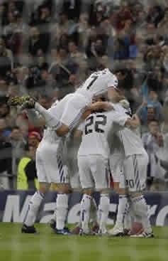 Foto de El Real Madrid vence 2-0 al Milán en Champions