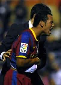Foto de El F.C. Barcelona vence 0-2 al Ceuta en la ida de la Copa