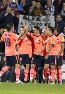 Foto de El Barça vence con autoridad 1-3 al Getafe