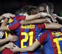 Foto de El Barça vence 5-1 al Ceuta y se clasifica para octavos en la Copa