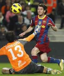 Foto de El F.C. Barcelona vence 3-1 al Villarreal