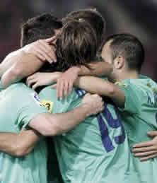 Foto de El F.C. Barcelona firma una goleada histórica 0-8 ante el Almería