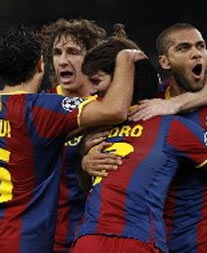 Foto de El F.C. Barcelona vence 0-3 al Panathinaikos en Atenas