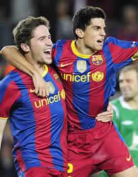 Foto de El F.C. Barcelona vence 2-0 al Rubin Kazan