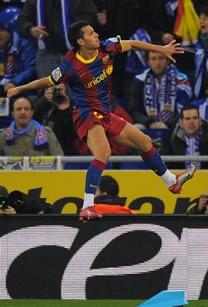 Foto de El F.C. Barcelona golea 1-5 al Espanyol