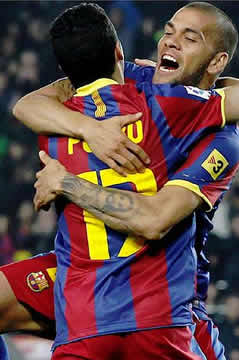 Foto de El F.C. Barcelona vence 2-1 al Levante