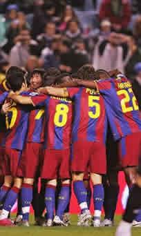 Foto de El F.C. Barcelona golea 0-4 al Deportivo en Coruña
