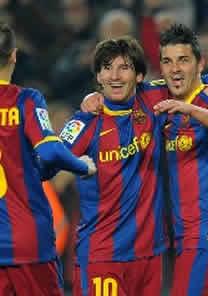 Foto de El F.C. Barcelona vence 3-0 al Atlético de Madrid