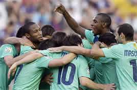Foto de El Barça empata 1-1 con el Levante y se hace con su vigésimo titulo de Liga