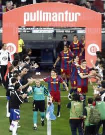 Foto de El Barçá empate sin goles ante el Depor