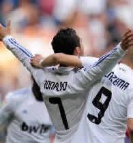 Foto de El Real Madrid golea 8-1 al Almería y Cristiano Ronaldo hace historia