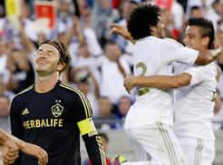 Foto de El Real Madrid golea 1-4 a LA Galaxy en el el primer partido de pretemporada