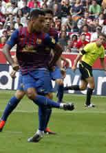Foto de El Barça empata con el Internacional pero se clasifica para la final de la Audi Cup