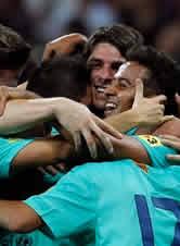 Foto de El Barça vence 0-2 al Bayern y se hace con el trofeo Audi