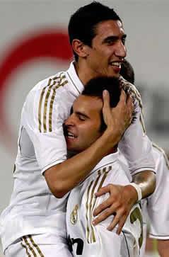Foto de El Real Madrid goela 1-7 en su estreno en China