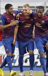 Foto de El Barça vence 0-2 al América