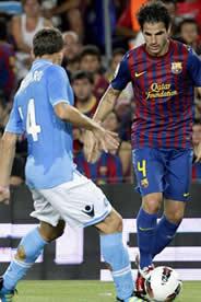 Foto de El F.C. Barcelona golea 5-0 al Nápoles en el Gamper