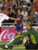 Foto de El F.C. Barcelona empata 2-2 con el Valencia