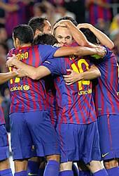 Foto de El F.C. Barcelona vence 2-0 al Viktoria Plzen