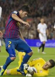 Foto de El Sevilla y Javi Varas frenan al Barça con un empate sin goles