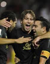 Foto de El F.C. Barcelona vence 0-1 en Granada
