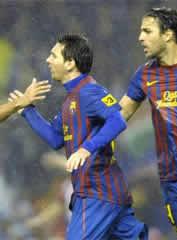 Foto de El F.C. Barcelona empata 2-2 con el Athletic en Bilbao en un partido épico