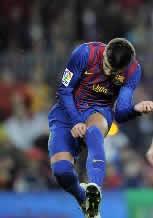Foto de El F.C. Barcelona golea 4-0 al Real Zaragoza