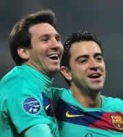 Foto de El F.C. Barcelona vence 2-3 al Milan en San Siro