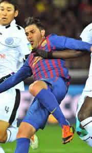Foto de El Barça gana 0-4 a Al Sadd pero pierde a Villa