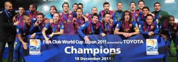 Foto de El Barça campeón del mundialito al vencer 0-4 al Santos