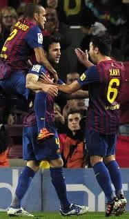 Foto de El Barça golea 4-0 a Osasuna en la ida de la Copa