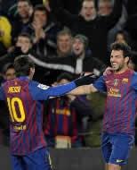 Foto de El Barça vence al Valencia y se clasifica para la final de Copa
