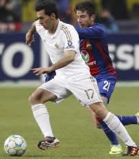 Foto de El Real Madrid empata 1-1 con el CSKA en la ida de octavos