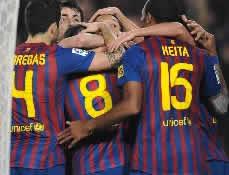 Foto de El Barça vence 3-1 al Sporting de Gijón