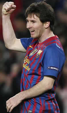 Foto de El Barça golea 7-1 al Bayern Leverkusen y Messi hace historia