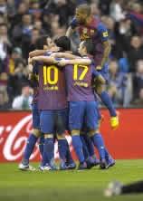 Foto de El Barça vence 0-2 en Santander