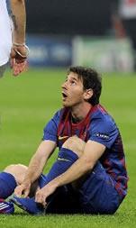 Foto de El F.C. Barcelona empata sin goles en Milan