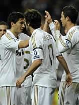 Foto de El Real Madrid en semifinales de Champions tras vencer 5-2 el trámite del Apoel