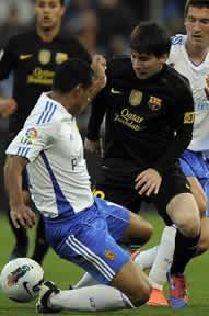 Foto de El F.C. Barcelona vence 1-4 al Real Zaragoza