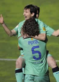Foto de El F.C. Barcelona vence 1-2 al Levante