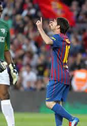 Foto de El F.C. Barcelona golea 4-1 al Málaga