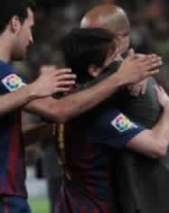 Foto de El F.C. Barcelona y Messi golean 4-0 al Espanyol