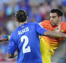 Foto de El Barcelona golea 1-4 al Getafe