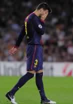 Foto de El Barça sufre para vencer 3-2 al Spartak con la aparición de Messi